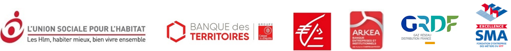 Logos trophées de l'innovation - GRDF