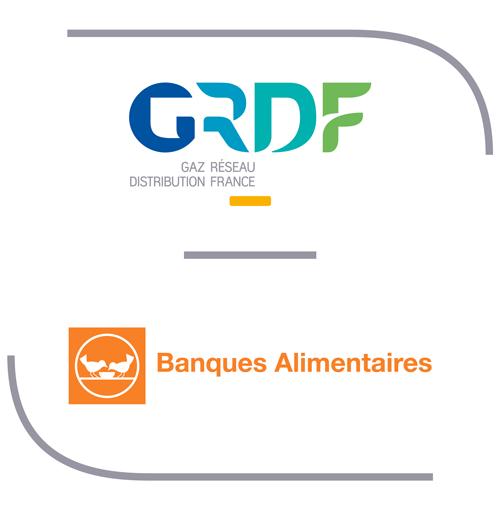 GrDF partenaire des Banques Alimentaires