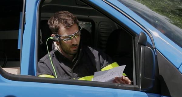 Voir la vidéo lunettes connectées
