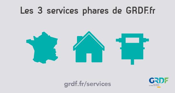 Vidéo de présentation des 3 services phares de GRDF