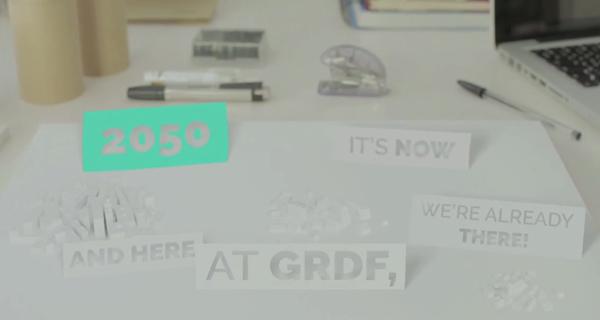 Voir la vidéo présentation GRDF en anglais