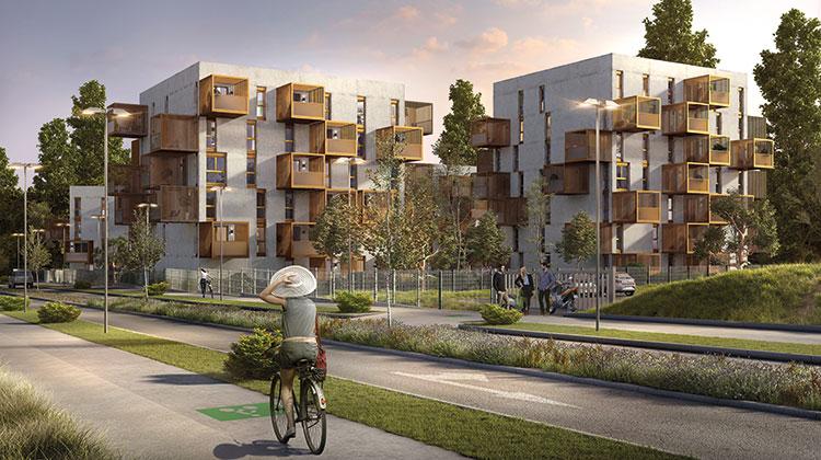 Programme résidence les parisiennes - ALPES - Pyramide Gp 2018 - GRDF