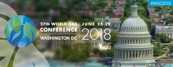 World Gas Conference 2018 - 25 au 29 juin 2018