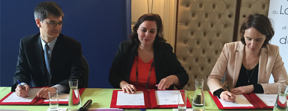 Signature convention avec Anah