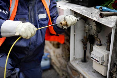 Modification d'un poste de livraison gaz naturel | GRDF